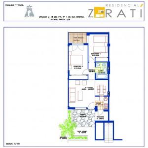 Residencial Zaratí - vivienda tipo B