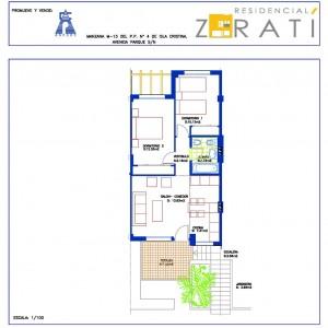 Residencial Zaratí - vivienda tipo C